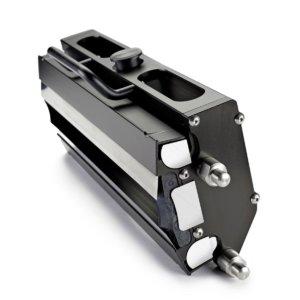 TRESU cassette format Flexiprint Reservoir Chamber is ideal for narrow web applications